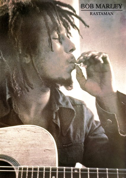 Bob Marley Rastaman Poster 37