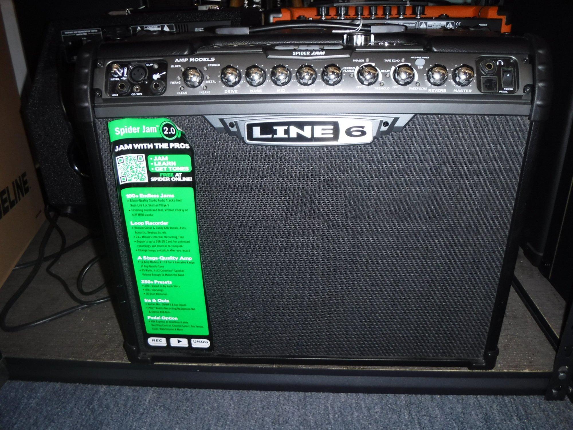 Line 6 Spider Jam - Used - 1537543703