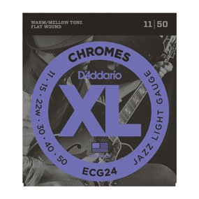 D'Addario ECG24 Jazz Lite Strings