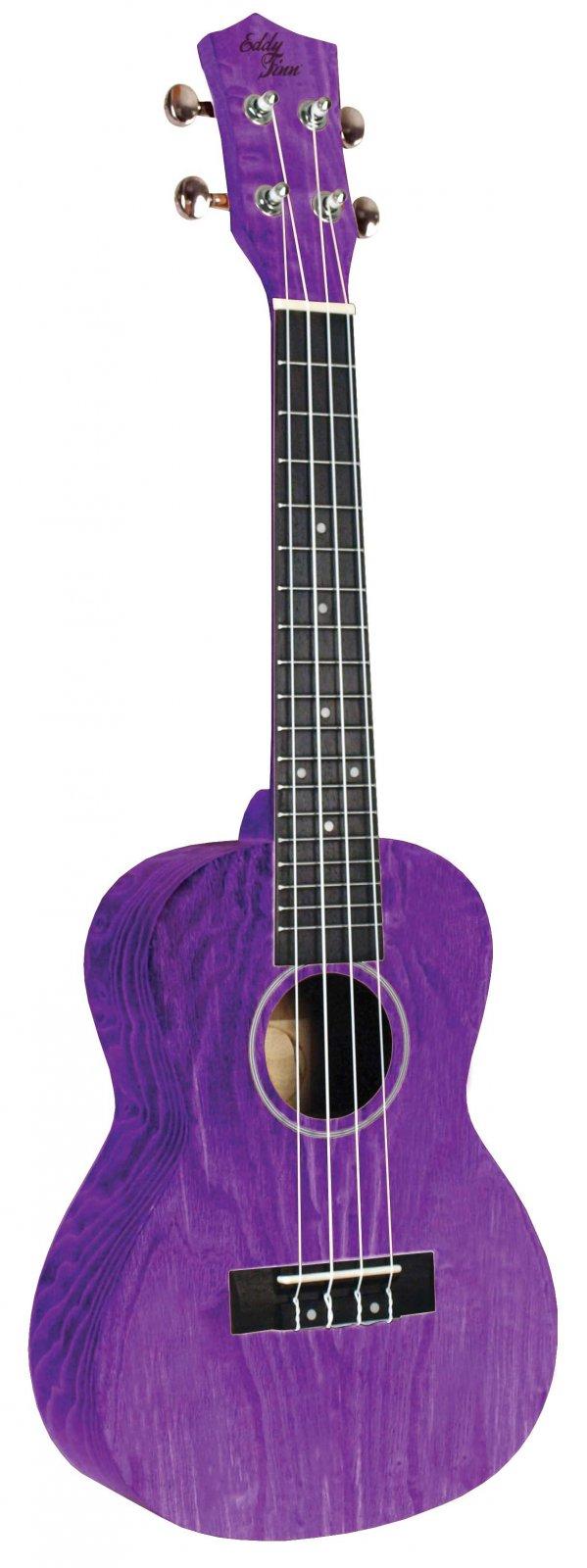Eddy Finn EF-ASH-PR Concert Ash Purple
