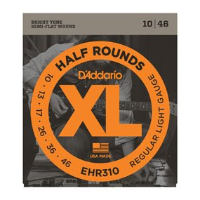 D'addario EHR310 Half Round 10/46 Electric Strings