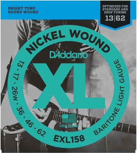 D'Addario EXL158 Baritone Light (13/62)