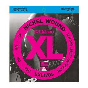 D'Addario EXL170S 45/100 Bass Strings