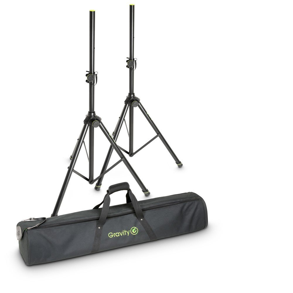 Gravity SS 5211 Set of 2 Speaker Stands with Bag