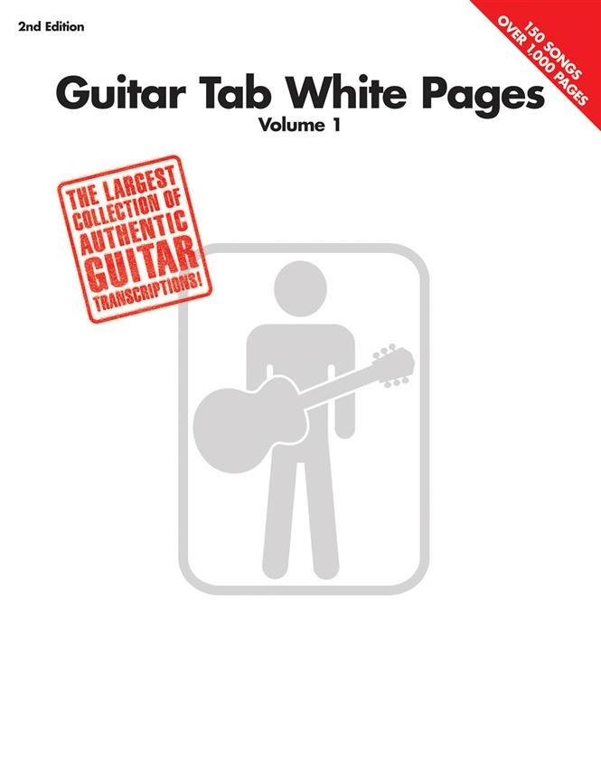 Guitar Tab White Pages - Vol. 1