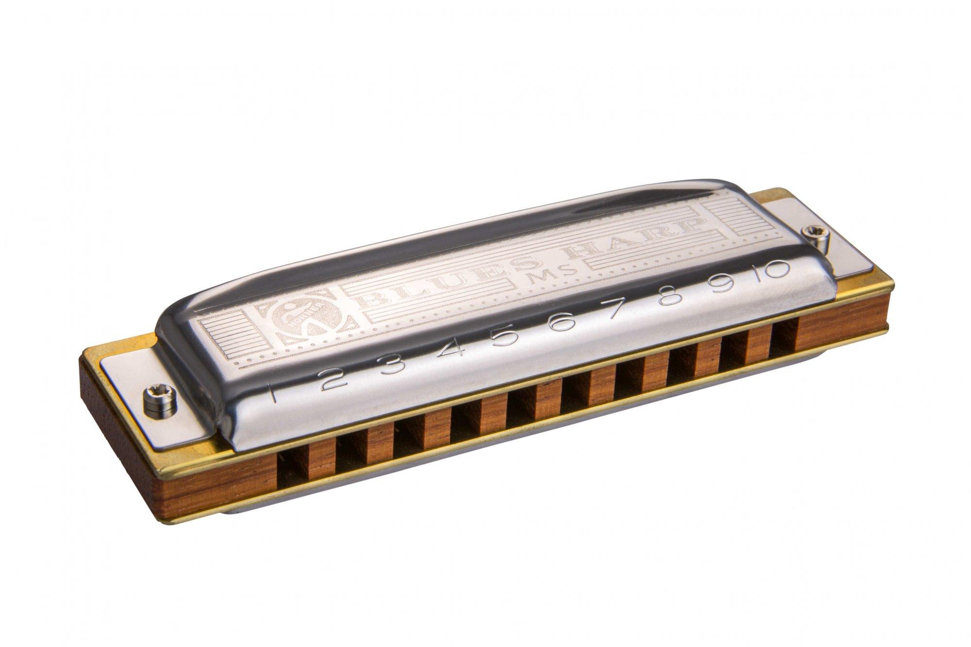 Hohner 532BX-D Blues Harp Harmonica - D