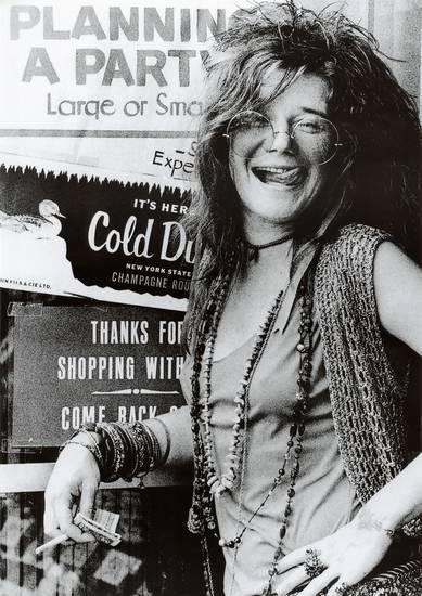 Janis Joplin Party Poster 1