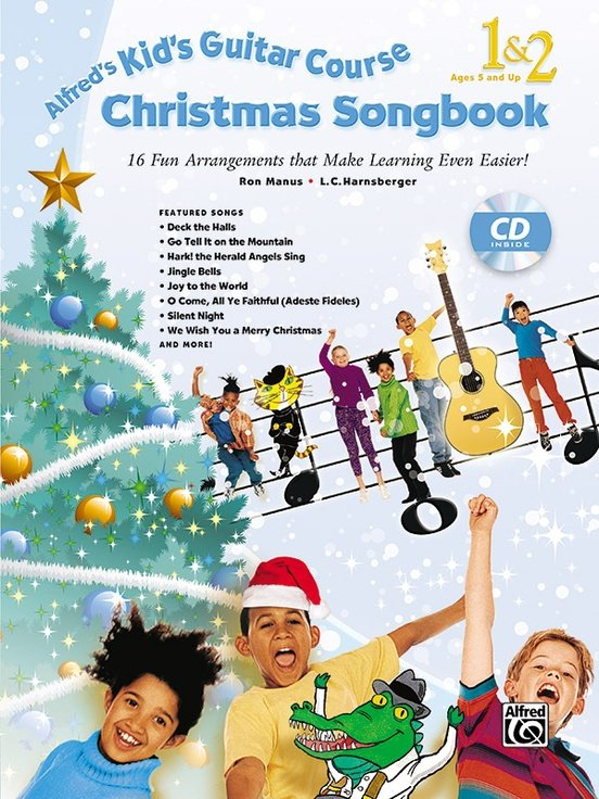 Alfred's Kids Christmas Songbook 1&2