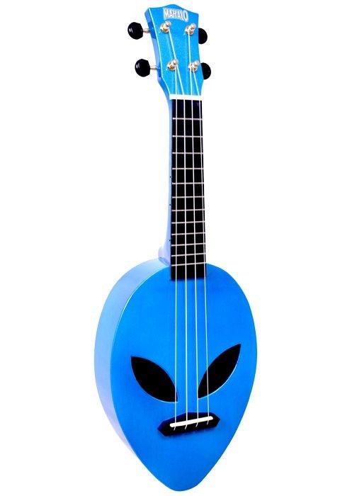 Mahalo MC1ALMBU Alien Uke - Blue