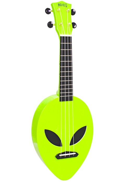 Mahalo MC1ALNGN Alien Uke - Green