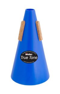 Truetone Trumpet Mute Straight Blue