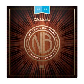 D'Addario NB1253 12-53 Acoustic Strings