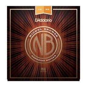 D'Addario NB1256 Nickel-Bronze (Light Top/Med Bottom)