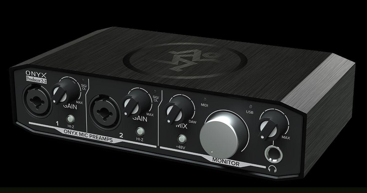 Mackie Onyx Producer 2x2 Audio Interface
