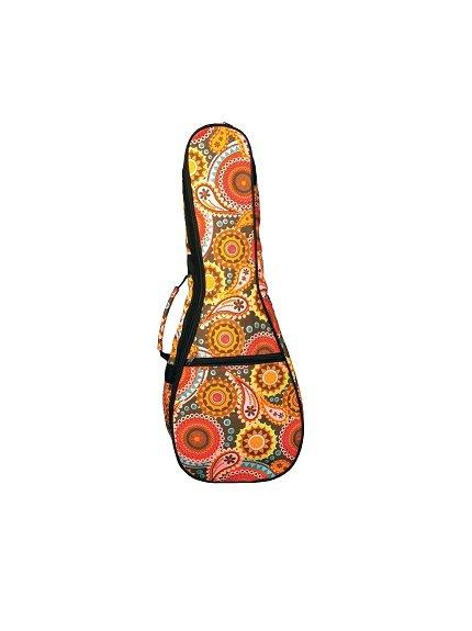 Eddy Finn Paisley Uke Bag - Concert