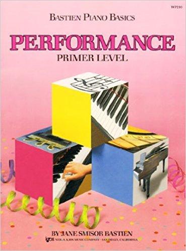 Bastien Piano Basics Performance Book