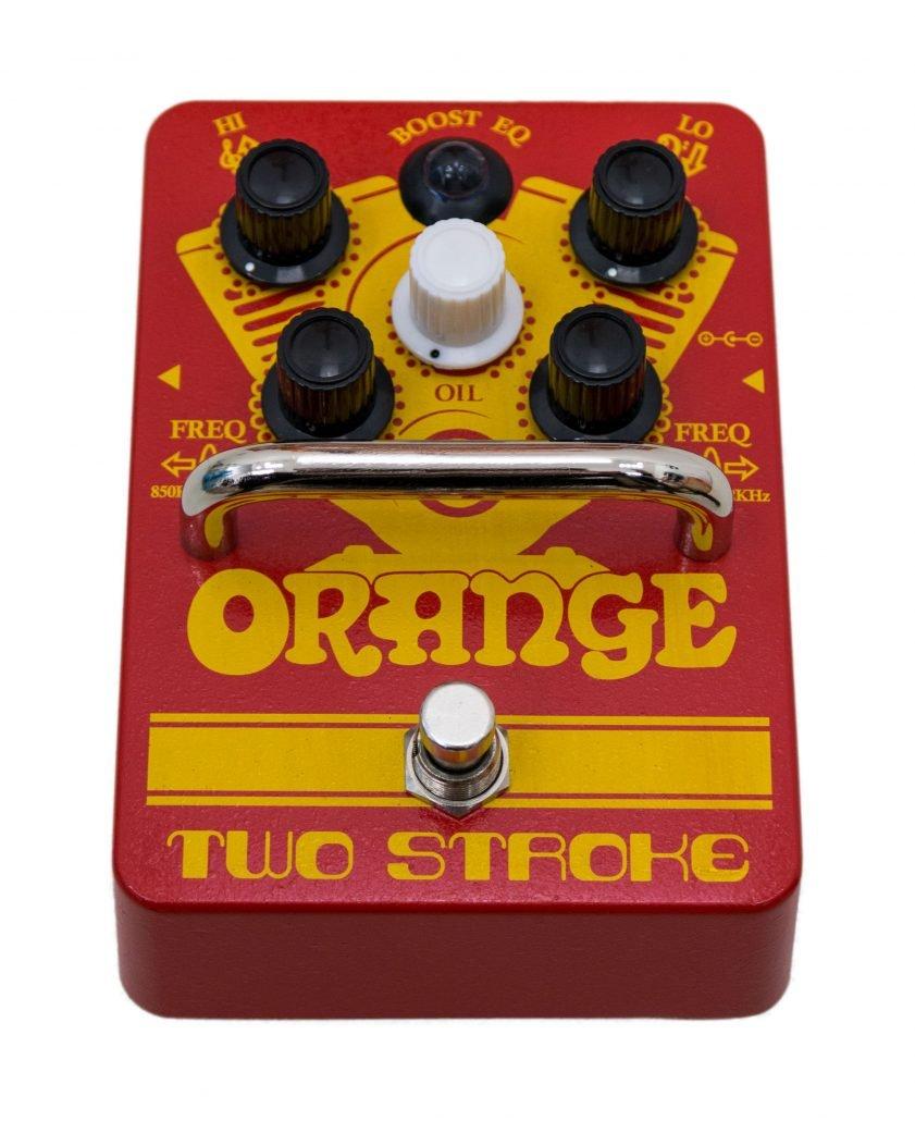 Orange Two Stroke Pedal