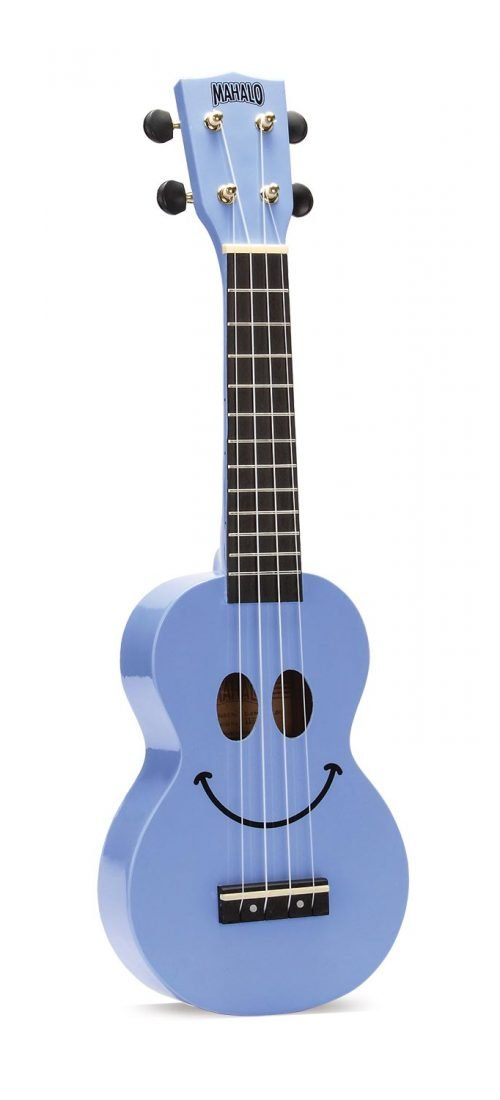 Mahalo U-Smile Soprano Ukulele Light Blue