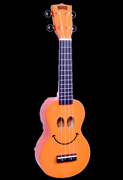 Mahalo USMILEOR-U Smile Ukulele Orange