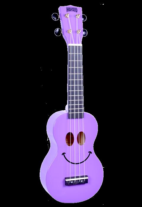 Mahalo USMILEPP-U Smile Ukulele - Purple