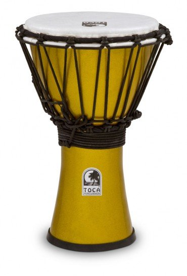 Toca TFCDJ-7MY Colorsound Djembe Yellow
