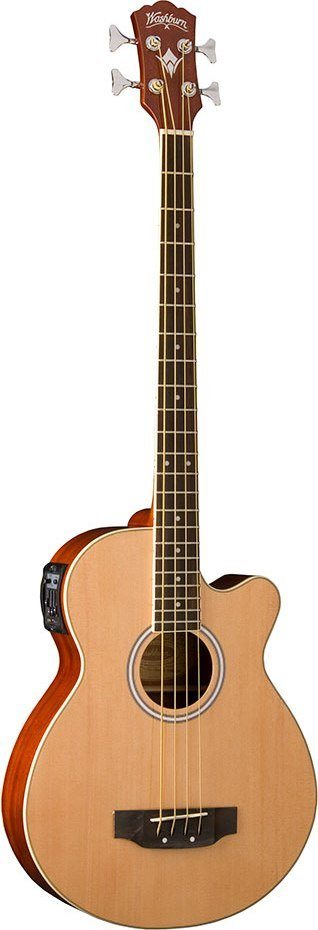 Washburn AB5K Acoustic Bass in Natural Finish