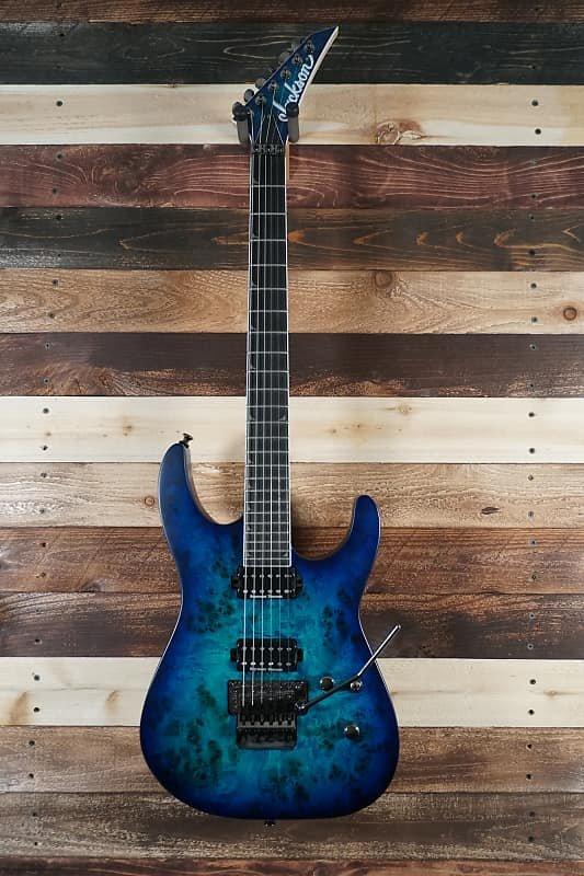 Jackson Pro Series Soloist SL2P - Aqua Shok