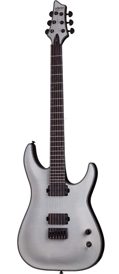 Schecter KM-6 in Trans White Satin