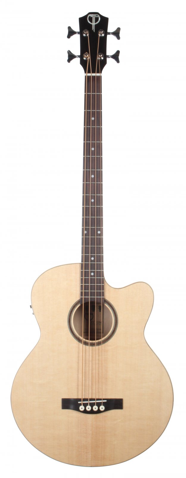 Teton STB130FMCENT Spruce w/ Maple Acoustic/Electric Bass