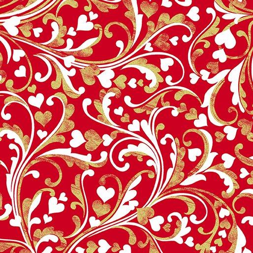 CHERISH SCROLL RED