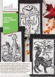 VINTAGE HALLOWEEN BAGS - AG DESIGNS
