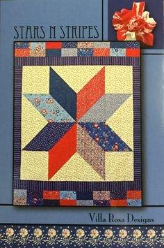 STARS N STRIPES PATTERN CARD