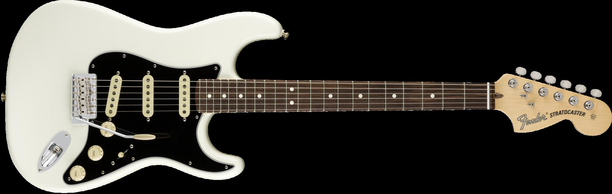 Fender American Performer Stratocaster Guitar - Rosewood Fingerboard - Arctic White