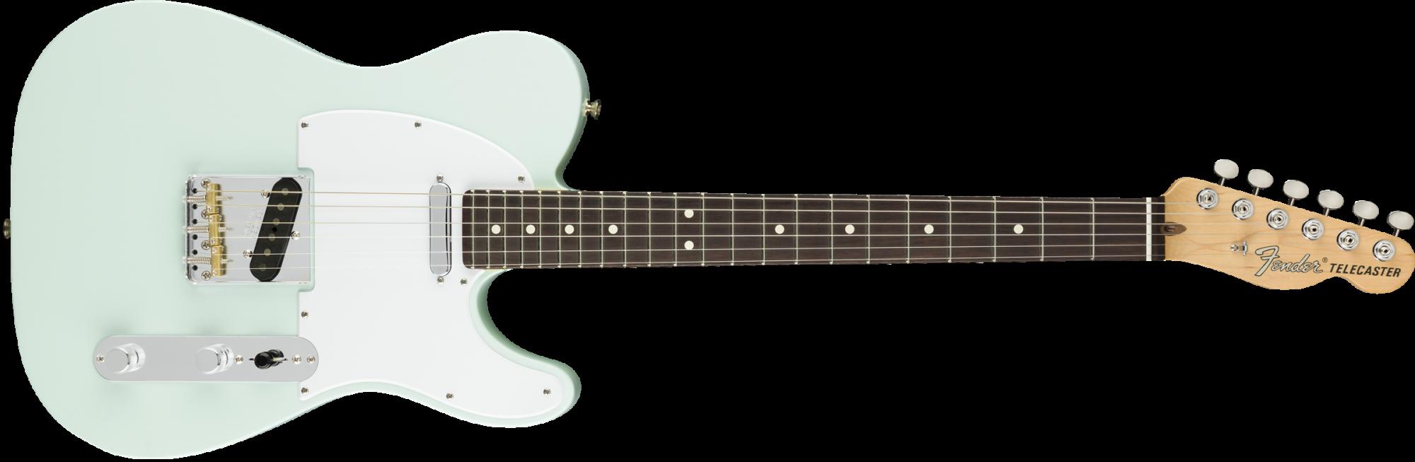Fender American Performer Telecaster Guitar - Rosewood Fingerboard - Satin Sonic Blue