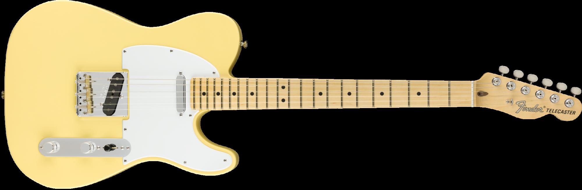 Fender American Performer Telecaster - Maple Fingerboard - Vintage White