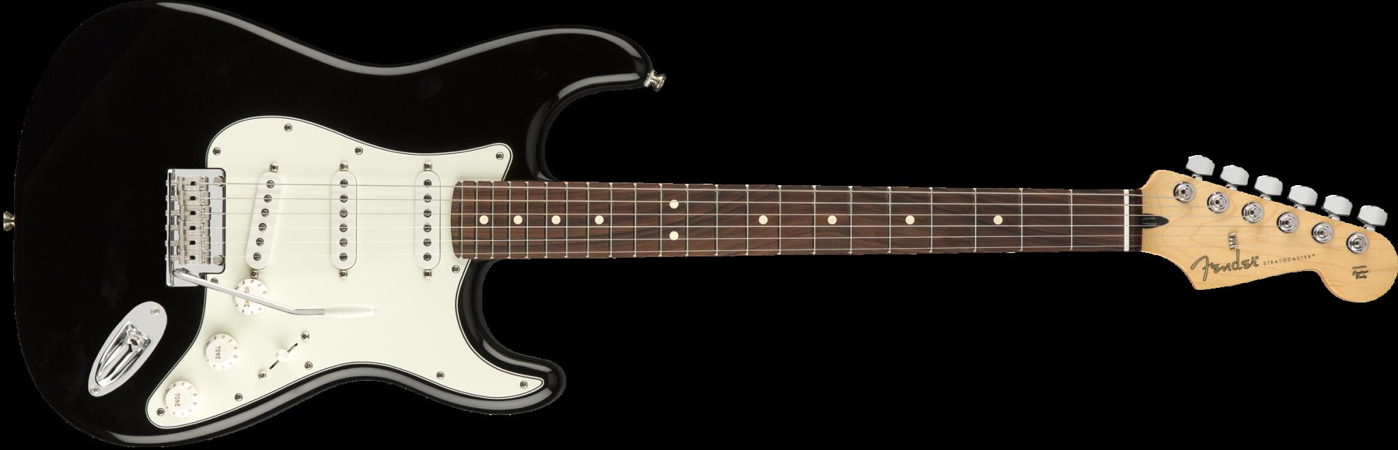Fender Player Stratocaster Electric Guitar - Pau Ferro Fingerboard - Black