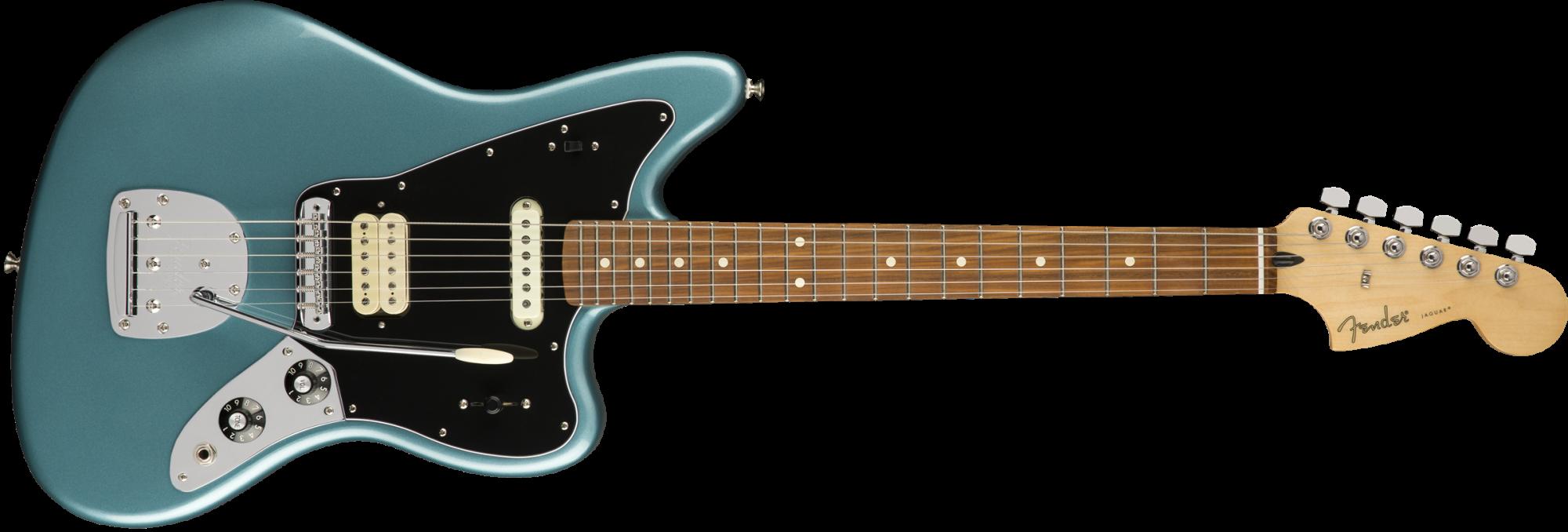 Fender Player Jaguar Guitar - Pau Ferro Fingerboard - Tidepool