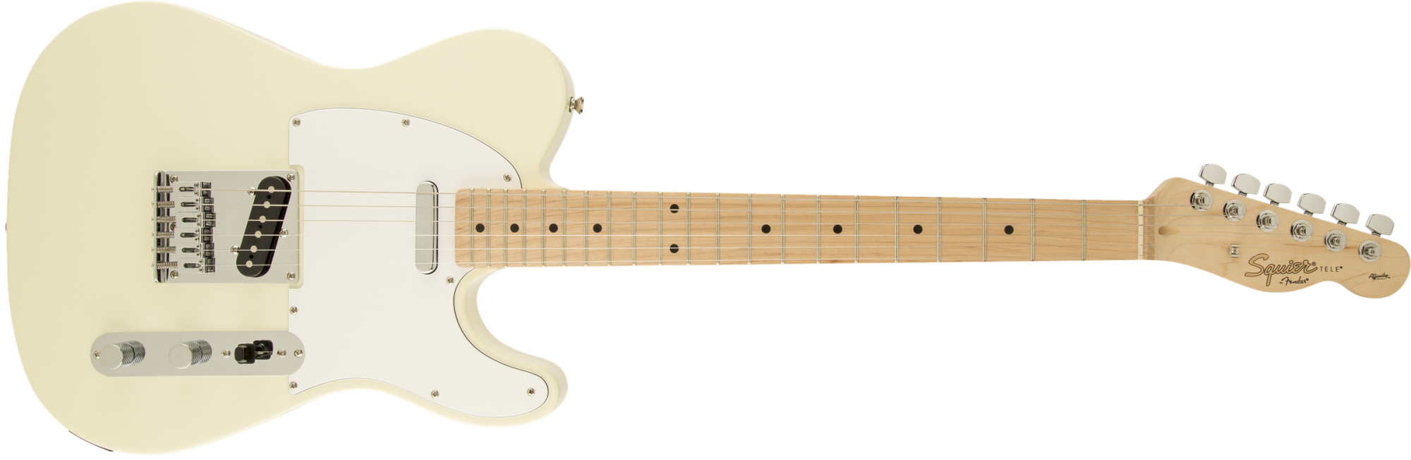 Squier Affinity Telecaster Electric Guitar - Arctic White