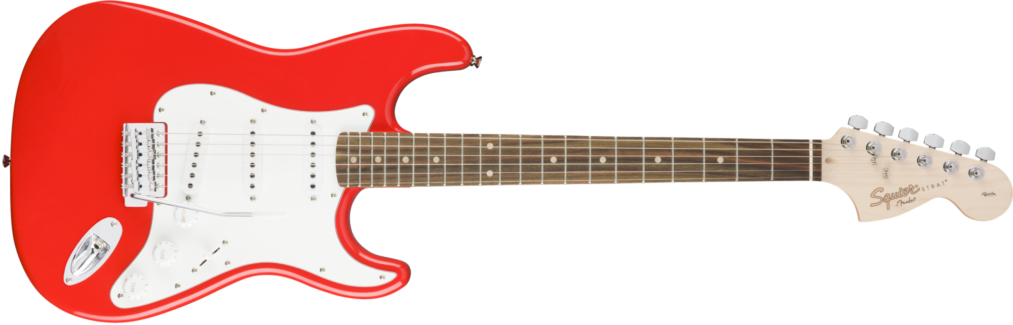Squier Affinity Series Stratocaster - Laurel Fingerboard - Race Red