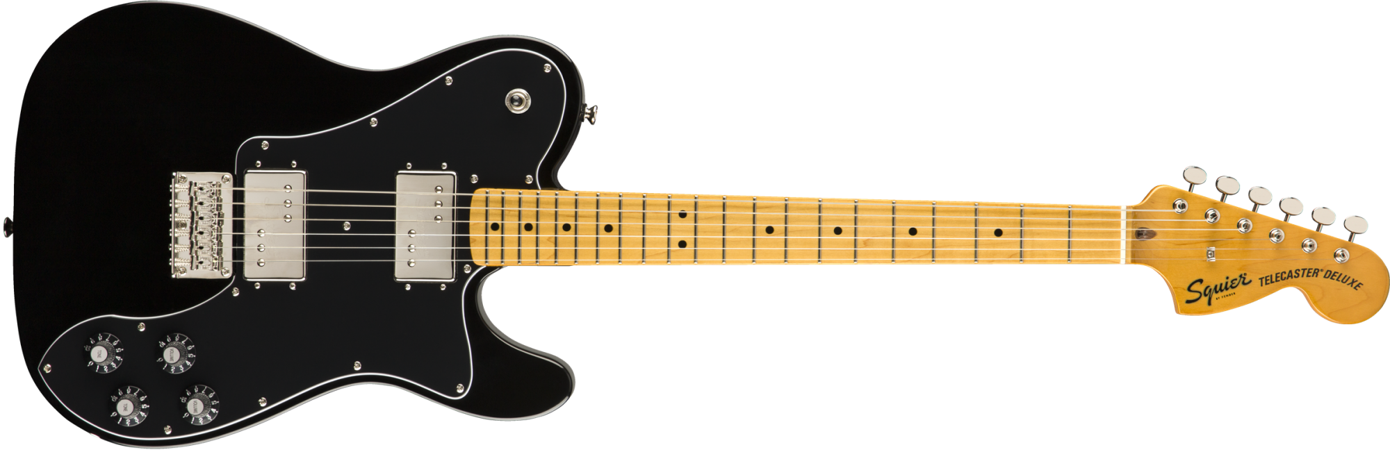 Squier Classic Vibe '70s Telecaster Deluxe - Maple Fingerboard - Black