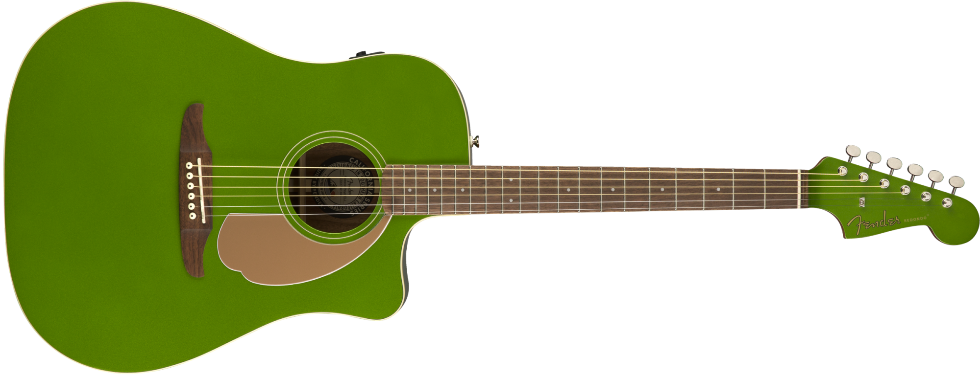 Fender Redondo Player Acoustic Electric Guitar - Electric Jade