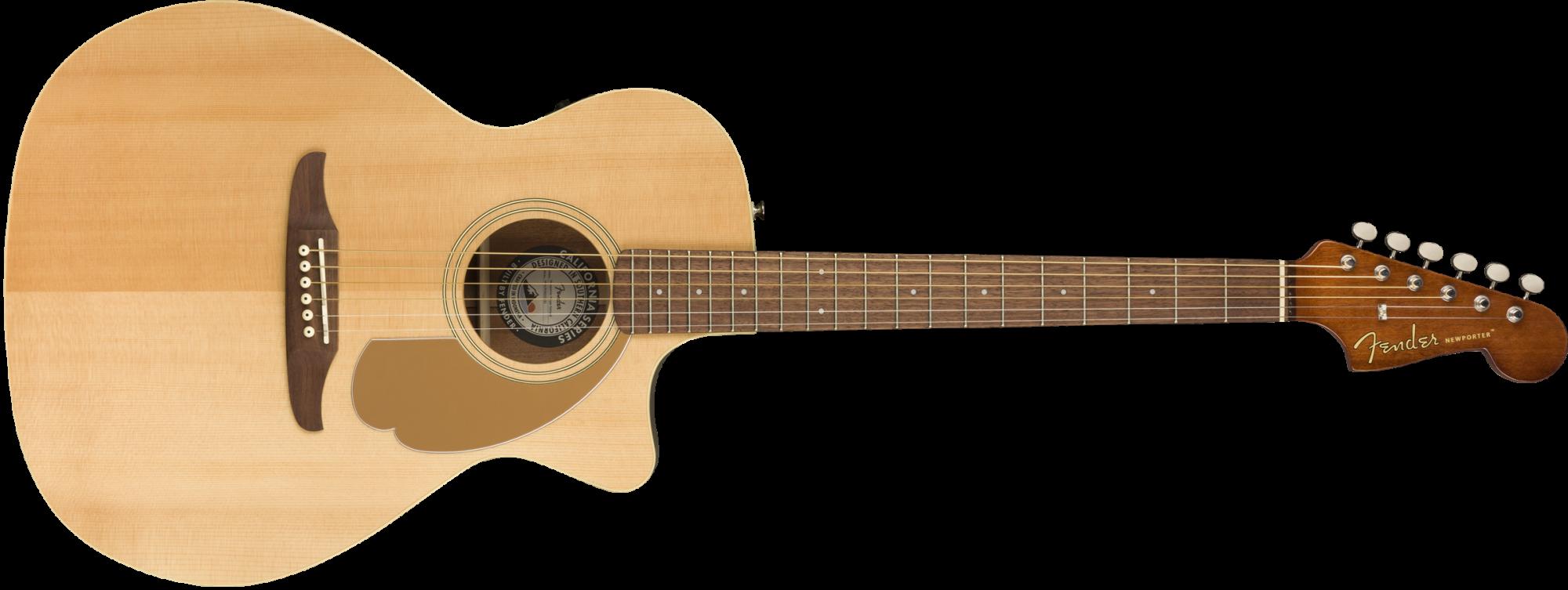 Fender Newporter Player - Walnut Fingerboard - Natural