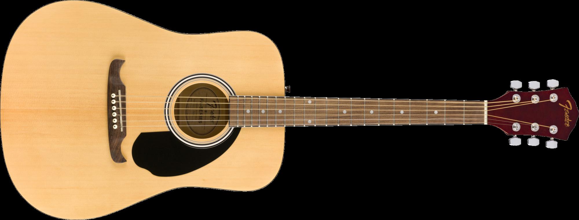 Fender FA-125 Dreadnought Guitar - Walnut Fingerboard - Natural