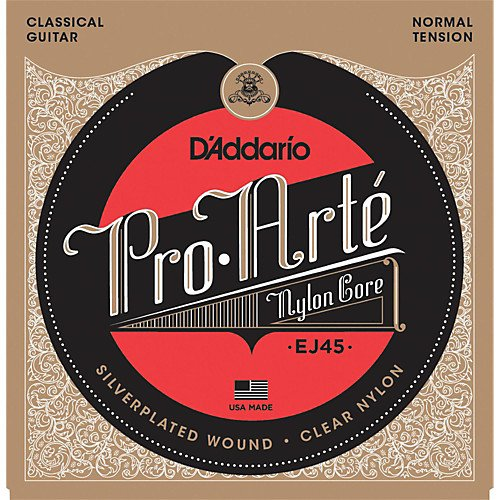 D'Addario EJ45 Pro-Arte Classical Guitar Strings - Normal Tension