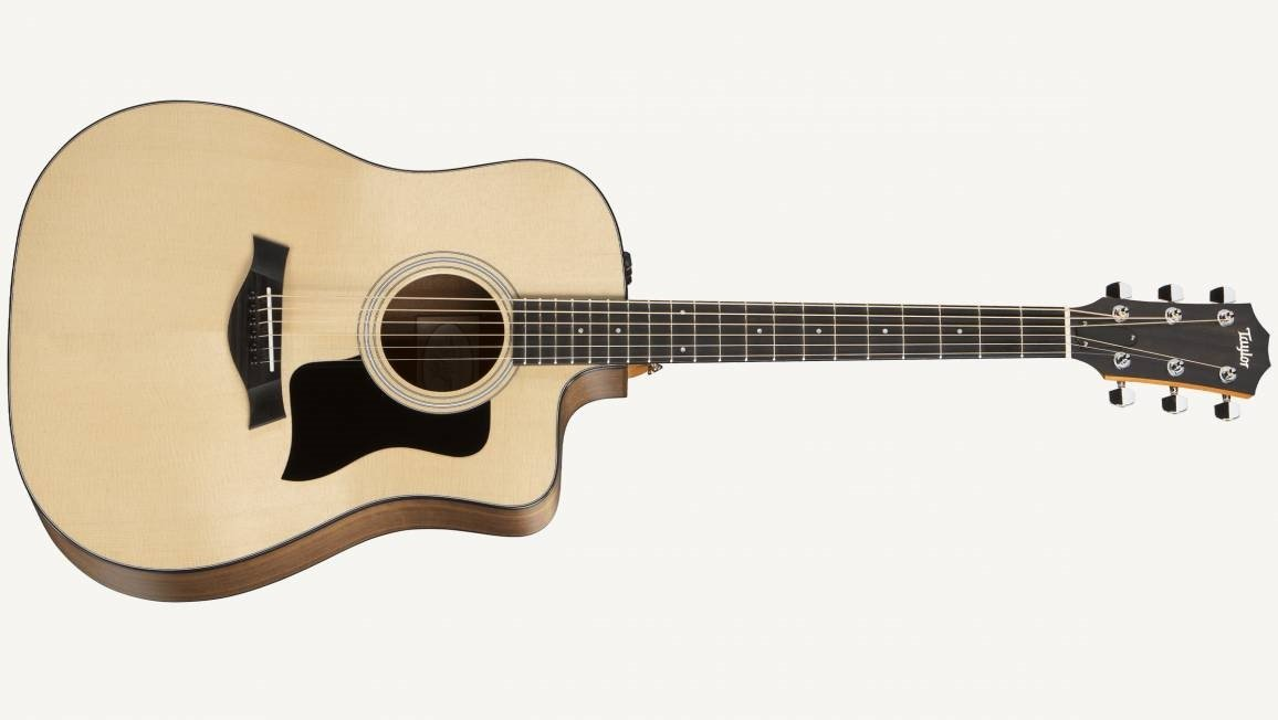 Taylor 110ce Dreadnought Acoustic Electric Guitar - Natural