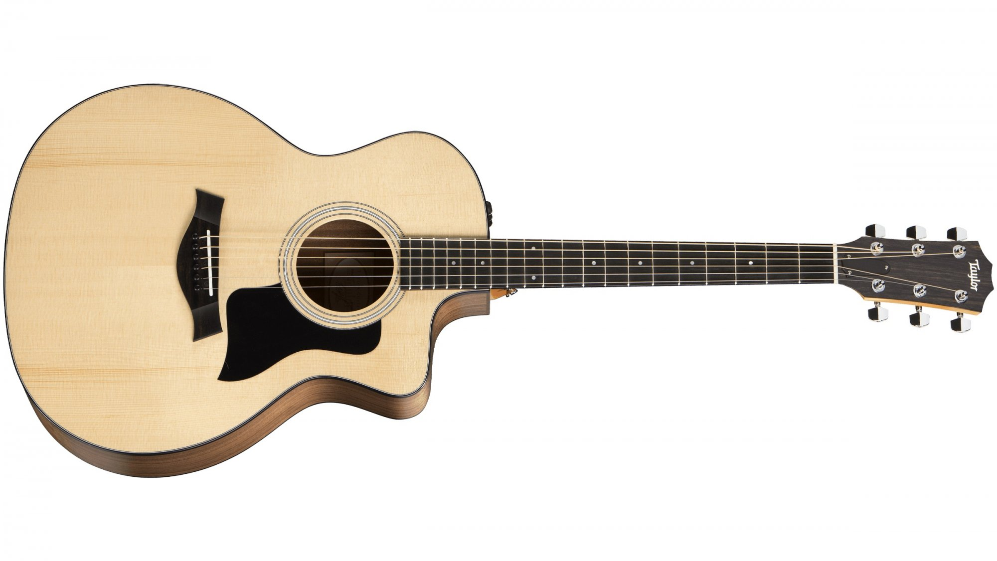 Taylor 114ce Grand Auditorium Acoustic Electric Guitar - Natural