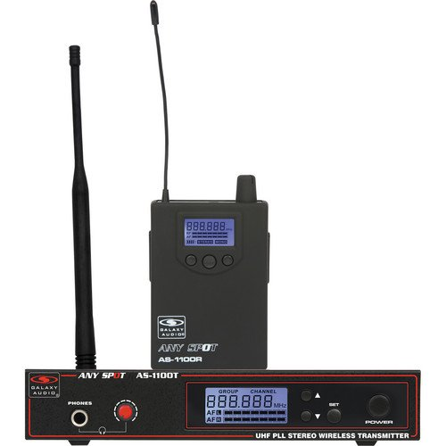 Galaxy Audio AS-1100 Personal Wireless Monitoring System - D-Band