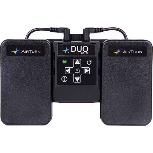 AirTurn Duo BT106 Bluetooth Dual Pedal Transmitter