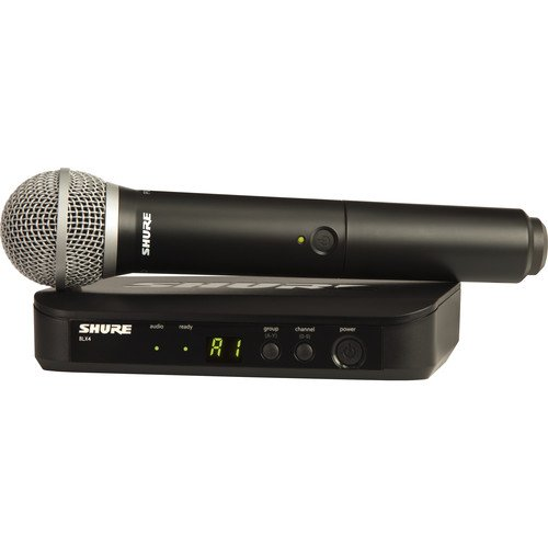 Shure BLX24/PG58 Handheld Wireless System - H9 Band
