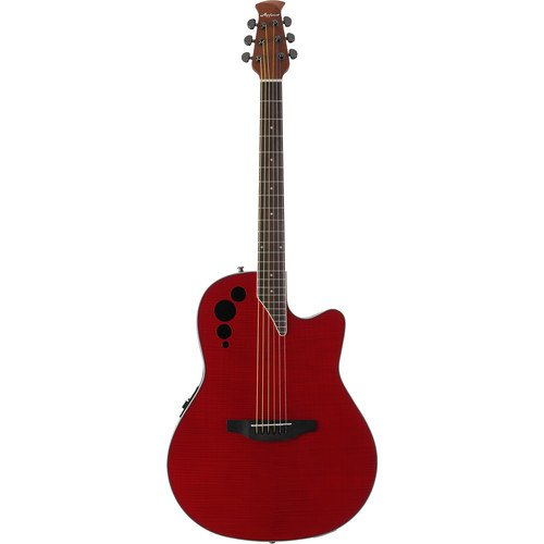 Applause AE44IIP-CHF Elite Exotic Mid Depth Acoustic Electric - Cherry Flame
